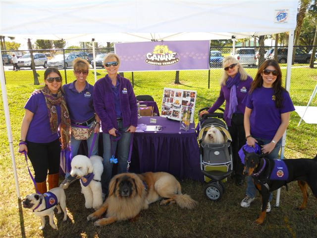 Proceeds from Doggie Palooza benefited Paws for Smiles, Inc.