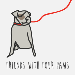 Friends with Four Paws Logo